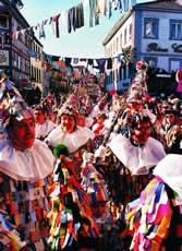 Масленичный карнавал Fasenacht в Бухене, Германия