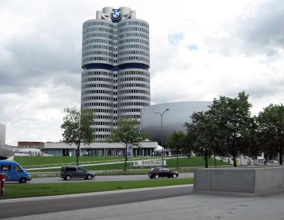 Мюнхен, музей БМВ