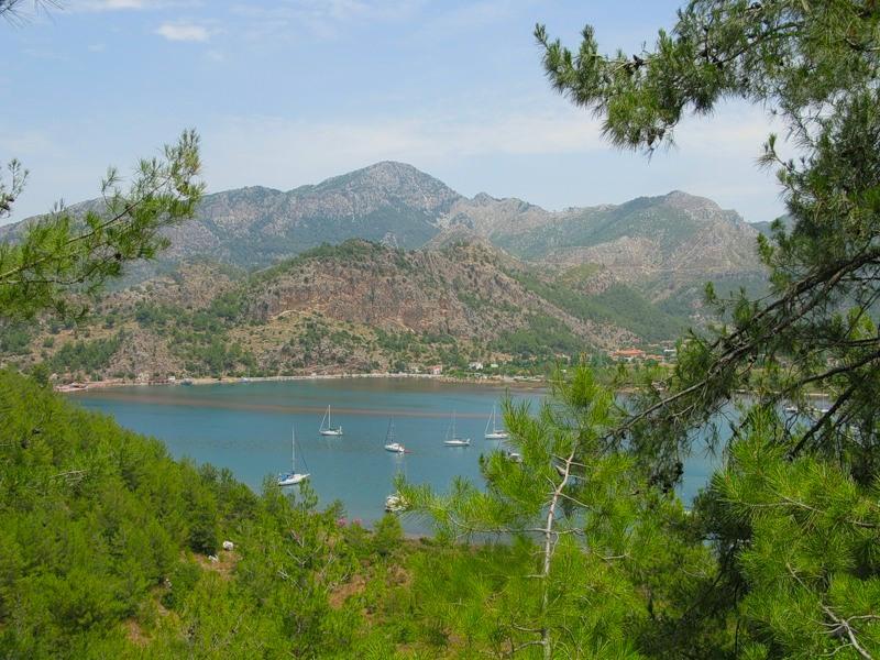 Турция: прогулка по морю - Кызкуму, или Девичья коса