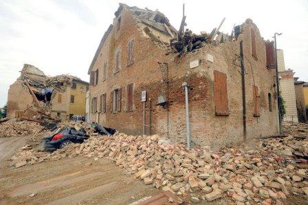 Италия: землетрясение май 2012