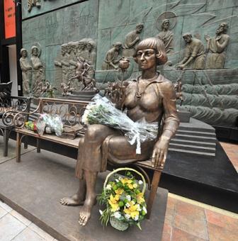 Франция: памятник Цветаевой