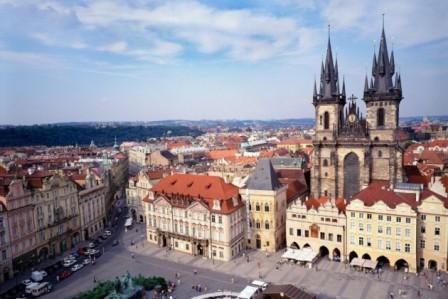 Чехия: математическая башня в Праге