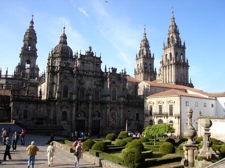 Собор святого Иакова в Сантьяго-де-Компостела