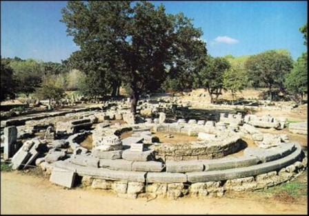 Развалины Олимпии